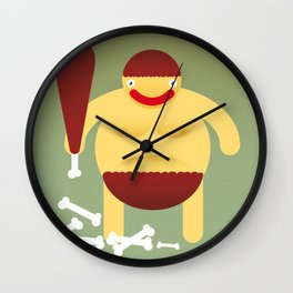 Primitive. Wall Clock