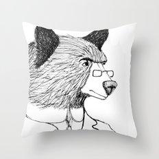 Bearing it all  Throw Pillow