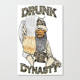 DRUNK DYNASTY Canvas Print