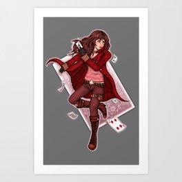 The Dealer Art Print