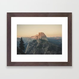 Half Dome III Framed Art Print