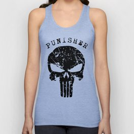 t-shirt Punisher Geek Unisex Tank Top