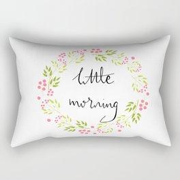 Little Morning Rectangular Pillow