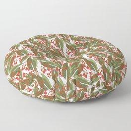 Flowering Gum - White Floor Pillow