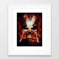 predator Framed Art Prints featuring Predator by Sirenphotos