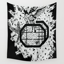 Save the birds Wall Tapestry