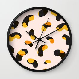 pattern no.4 / beans, beans! Wall Clock