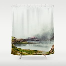 I Dream of Her Breath Shower Curtain