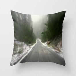 It's cold Down - Under! Throw Pillow