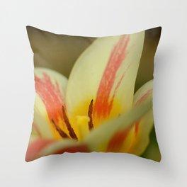 Aprils garden Tulip Throw Pillow