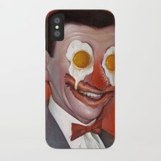 Mr. Breakfast iPhone X Slim Case