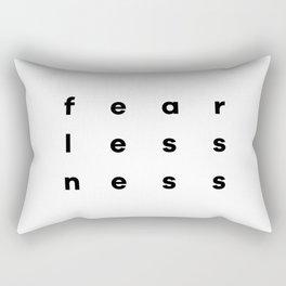 FearLessNess Rectangular Pillow