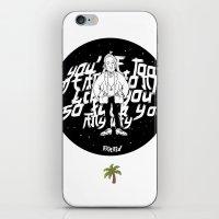 the neighbourhood iPhone & iPod Skins featuring The NEIGHBOURHOOD: Afraid by PINXEWUEY