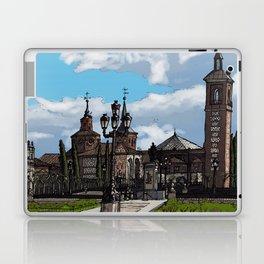Plaza de Cervantes Laptop & iPad Skin