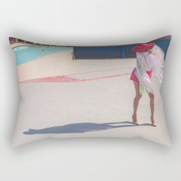 Pink Lady Rectangular Pillow