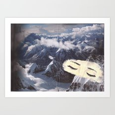 Sleeping Mountains Art Print