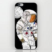 nasa iPhone & iPod Skins featuring NASA Astronaut - Cristina Curto by Cristina Curto