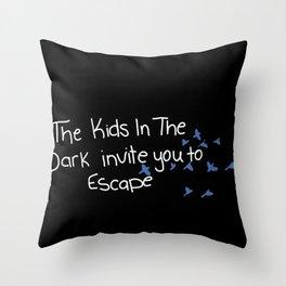 We invite you to escape Throw Pillow