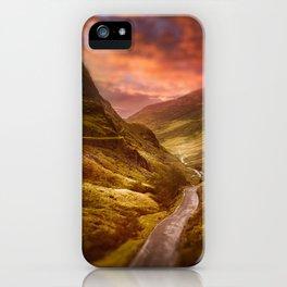 Honister Sundown iPhone Case