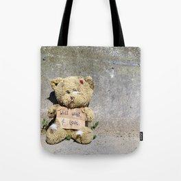Poor Teddy Tote Bag