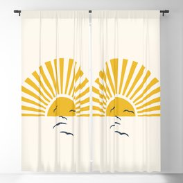 Minimalistic Summer I Blackout Curtain