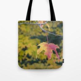 Acer Leaf Tote Bag