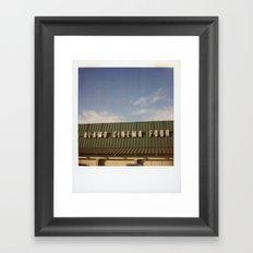 Alamo Drafthouse Village Framed Art Print