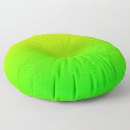 Neon Yellow/Green Ombre Floor Pillow