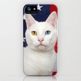 Ameri-Cat the beautiful iPhone Case