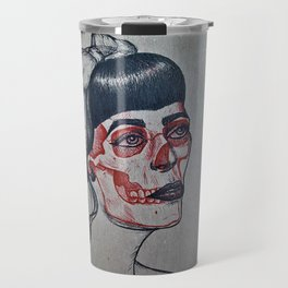 Rockabilly x-ray Travel Mug
