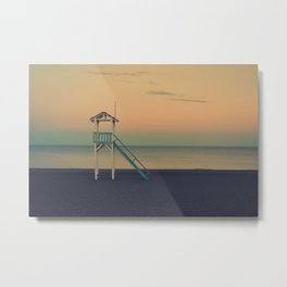 Sunset Beach Metal Print