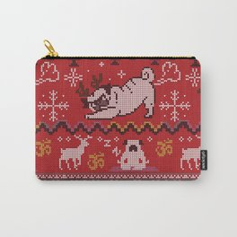 Pugly Yoga X-Mas Carry-All Pouch