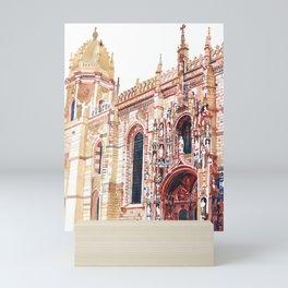 Santa Maria de Belem Mini Art Print