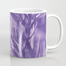 Ultra Violet Spruce Tree Pattern| Trendy color of year 2018 Coffee Mug