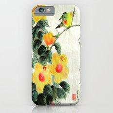 green bird sensations iPhone 6s Slim Case
