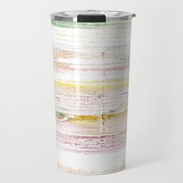 Baby powder abstract watercolor Travel Mug