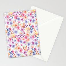Watercolour Floral Stationery Cards
