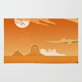 Monument Moon Rug