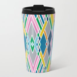 Map Mirror Outline Travel Mug