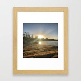 Sunset dreams Framed Art Print