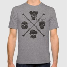 The Highwayman Mens Fitted Tee LARGE Tri-Grey