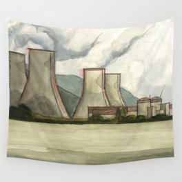 Nuclear Power Plant Wall Tapestry