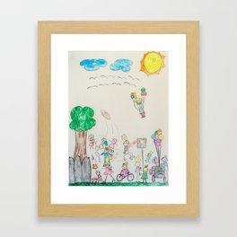 Kelly Bruneau #9 Framed Art Print