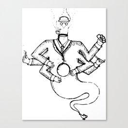Magritte Genie Canvas Print
