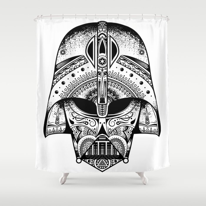 The Big Baddy From StarWarsTM Shower Curtain