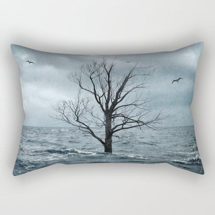 Sea Tree Rectangular Pillow