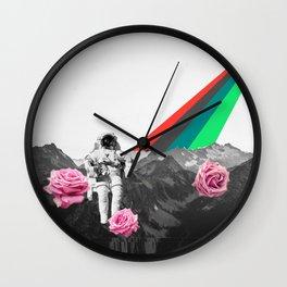 Lunar Flights Wall Clock