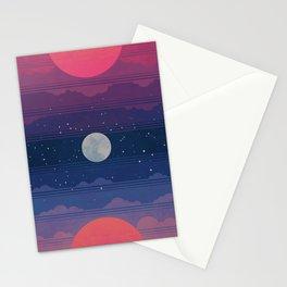 Sunset to Sunrise Stationery Cards