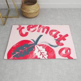 Tomato - by Kara Peters Rug