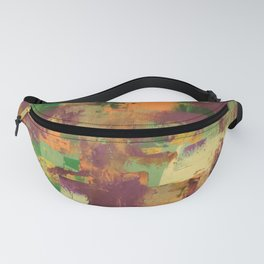 Purple and Yellow Fanny Pack